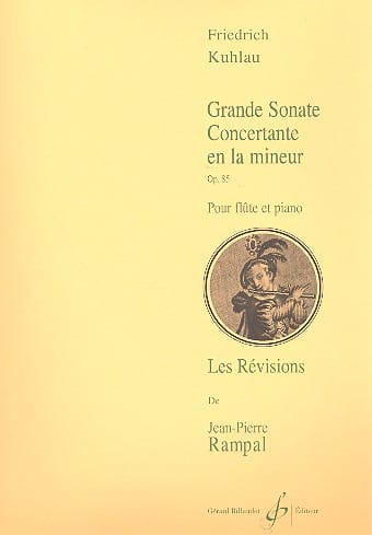 Grande sonate concertante op. 85 - Friedrich Kuhlau - laflutedepan.com