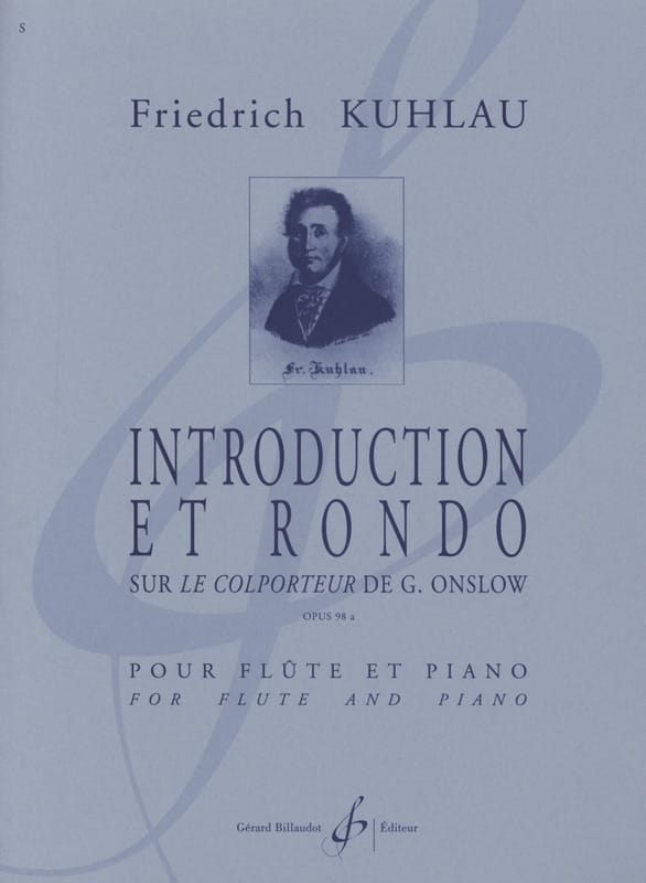 Friedrich Kuhlau - Introduction and Rondo op. 98a - Partition - di-arezzo.co.uk
