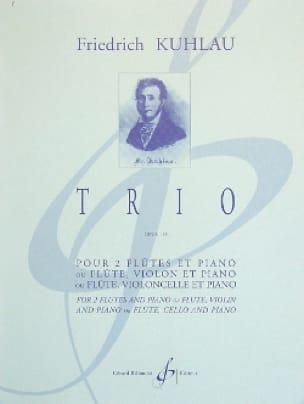 Trio Op. 119 - 2 Flûtes-Piano - Friedrich Kuhlau - laflutedepan.com