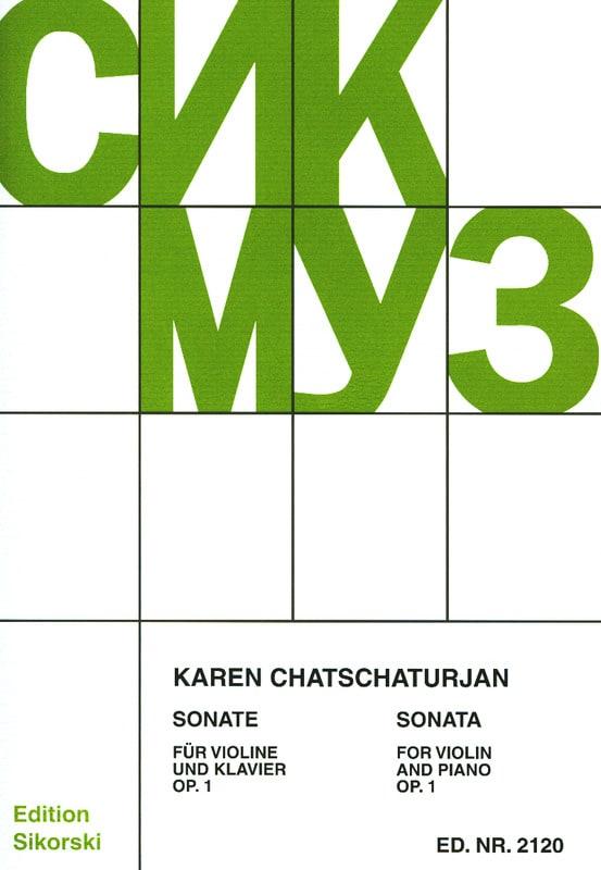 Sonate op. 1 für Violine und Klavier - laflutedepan.com