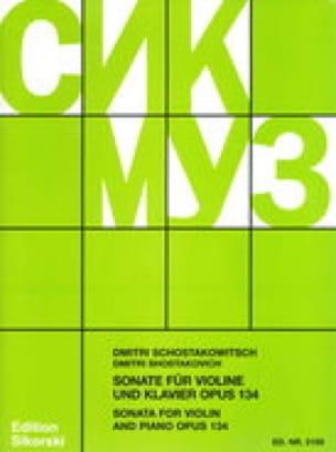 CHOSTAKOVITCH - Sonata Op. 134 - Partition - di-arezzo.it