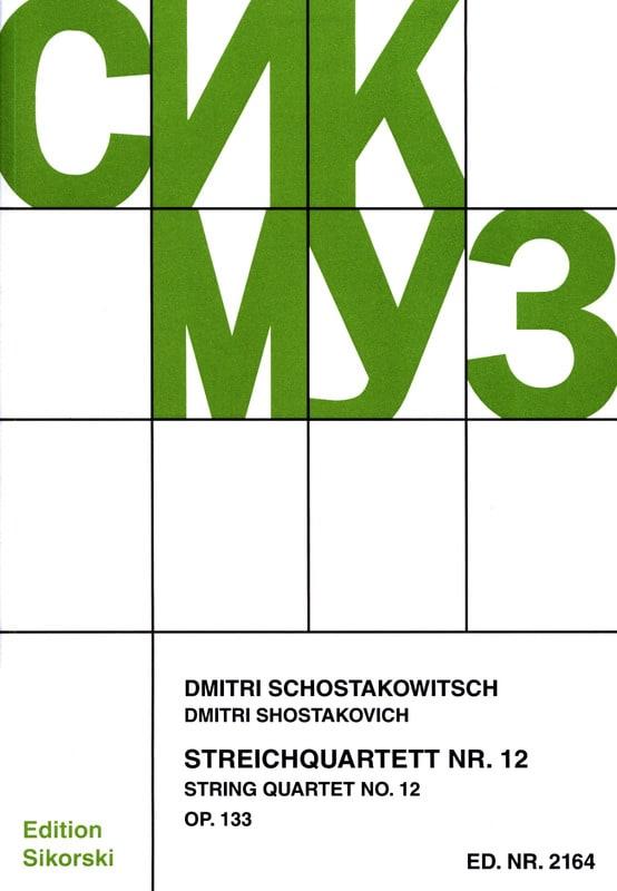 Streichquartett Nr. 12 op. 133 - Stimmen - laflutedepan.com