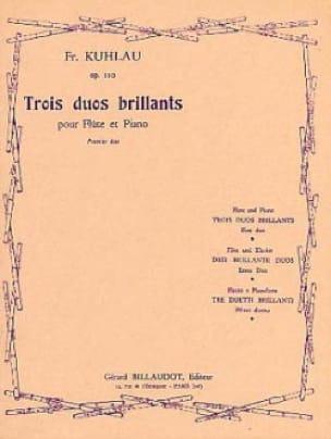 3 Duos Brillants Op. 110 - Premier Duo - laflutedepan.com