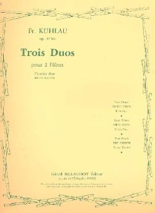 3 Duos op. 57bis - 1er Duo - 2 Flûtes - laflutedepan.com