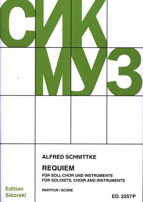Requiem - Alfred Schnittke - Partition - laflutedepan.com