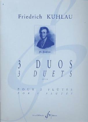 Trois Duos Opus 81 - Friedrich Kuhlau - Partition - laflutedepan.com