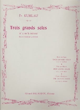 Friedrich Kuhlau - 3 Large solos op. 57 - No. 2 in A minor - Partition - di-arezzo.co.uk