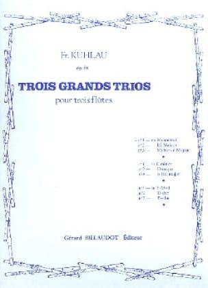 3 Grands trios op. 86 - n° 1 - 3 Flûtes - laflutedepan.com