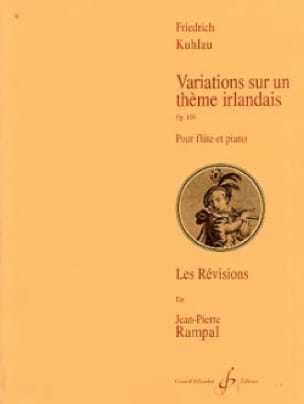 Friedrich Kuhlau - Variations on an Irish Theme Op. 105 - Partition - di-arezzo.co.uk