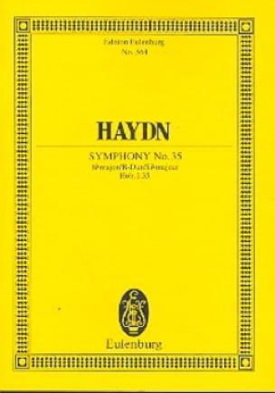 Sinfonie Nr. 35 B-Dur - HAYDN - Partition - laflutedepan.com