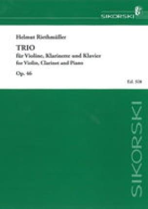 Trio op. 46 -Klarinette Violine Klavier - laflutedepan.com