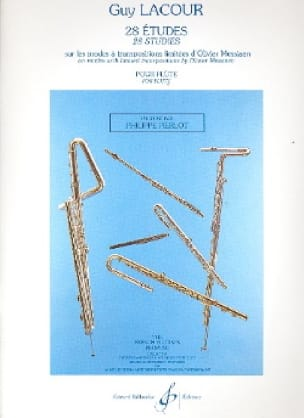 28 Etudes - Flûte - Guy Lacour - Partition - laflutedepan.com