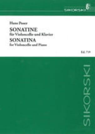 Sonatine op. 54 n° 2 - Violoncelle - Hans Poser - laflutedepan.com