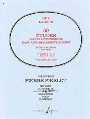 Guy Lacour - 50 Easy and Progressive Studies notebook 1 - Partition - di-arezzo.co.uk
