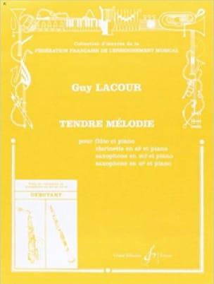 Tendre mélodie - Guy Lacour - Partition - laflutedepan.com