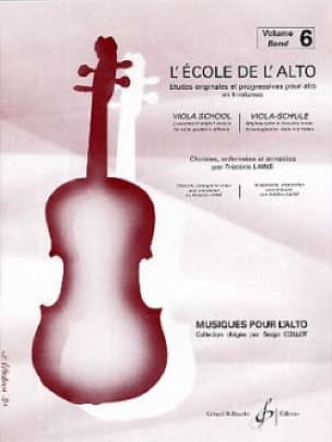 Frédéric Lainé - The viola school Volume 6 - Partition - di-arezzo.com