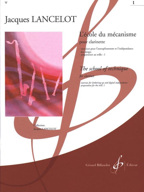 Jacques Lancelot - School of Mechanism - Volume 1 - Partition - di-arezzo.co.uk