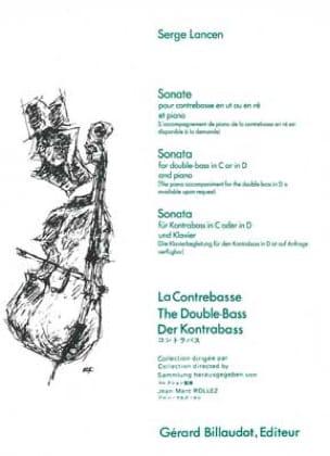 Serge Lancen - Sonata - Double bass - Partition - di-arezzo.com