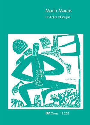 Les folies d'Espagne - Marin Marais - Partition - laflutedepan.com