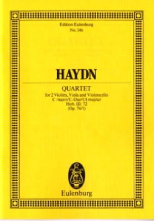 Streich-Quartett C-Dur op. 74 n° 1 - HAYDN - laflutedepan.com