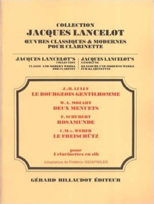 - Bourgeois Gentleman / 2 Minuets / Rosamunde / Freischütz - Partition - di-arezzo.co.uk