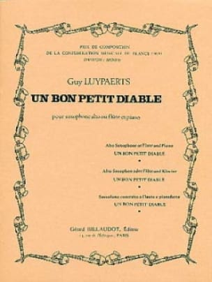 Un bon petit diable - Guy Luypaerts - Partition - laflutedepan.com