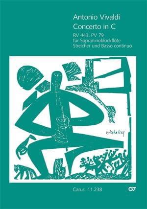 Concerto en Do Maj. - Rv 443 - Pv 79 - VIVALDI - laflutedepan.com