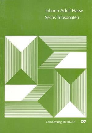 Sechs Triosonaten - Johann Adolf Hasse - Partition - laflutedepan.com
