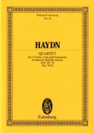 Streich-Quartett d-moll op. 76 n° 2 - HAYDN - laflutedepan.com