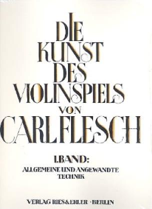 Carl Flesch - Die Kunst des Violinspiels - Bd. 1 - Partition - di-arezzo.com