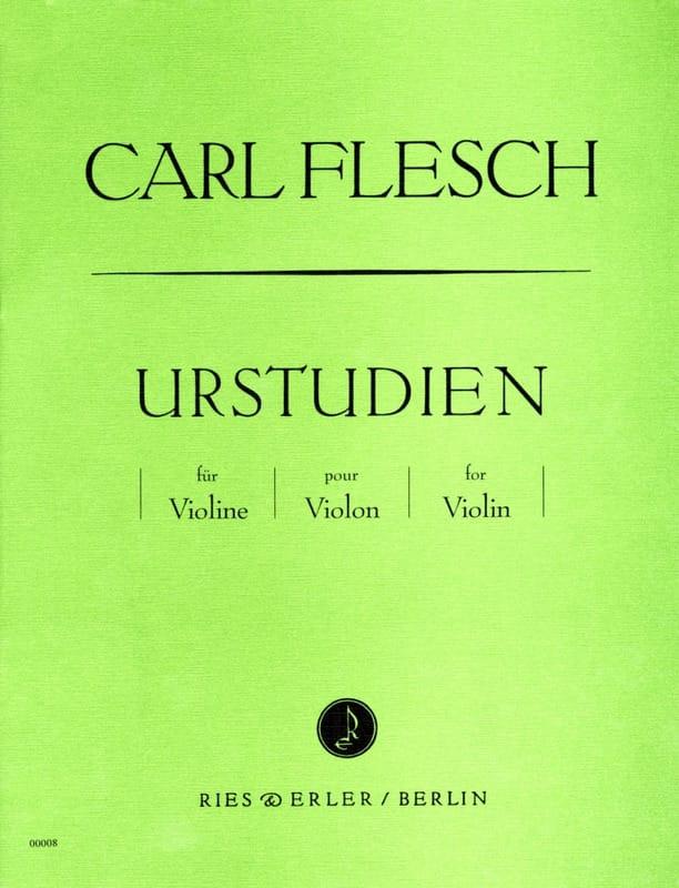 Carl Flesch - Urstudien für Violine - Partition - di-arezzo.com