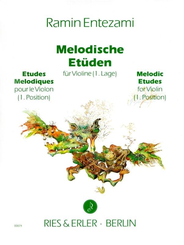 Ramin Entezami - Melodische Etüden Volume 1 - Partition - di-arezzo.co.uk