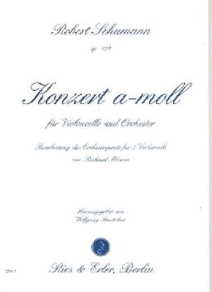 Concerto en la Mineur Opus 129 - SCHUMANN - laflutedepan.com