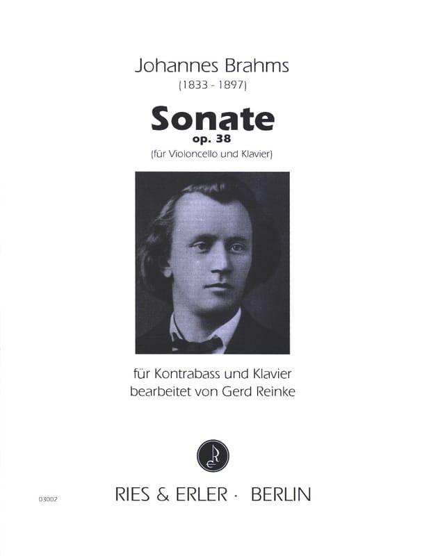 Sonate op. 38 - Kontrabass - BRAHMS - Partition - laflutedepan.com