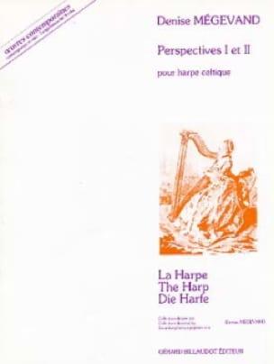 Perspectives 1 et 2 - Denise Megevand - Partition - laflutedepan.com
