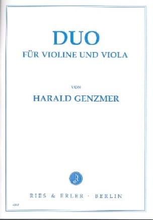 Duo - Violine und Viola - Harald Genzmer - laflutedepan.com