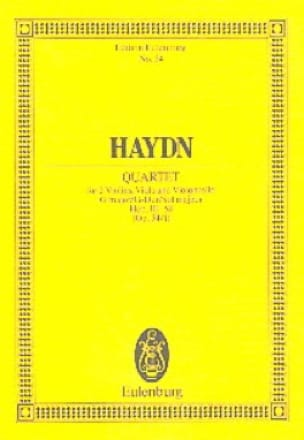 Streich-Quartett G-Dur op. 54 n° 1 - HAYDN - laflutedepan.com