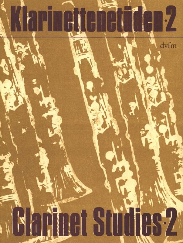 Klarinettenetüden - Bd. 2 - Rudi Reski - Partition - laflutedepan.com