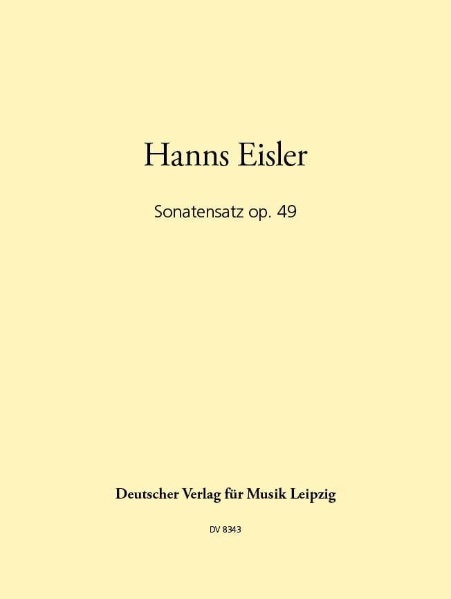 Sonatensatz op. 49 -Flöte Oboe Harfe - laflutedepan.com