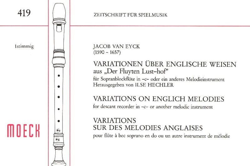 Variations sur des mélodies anglaises - laflutedepan.com