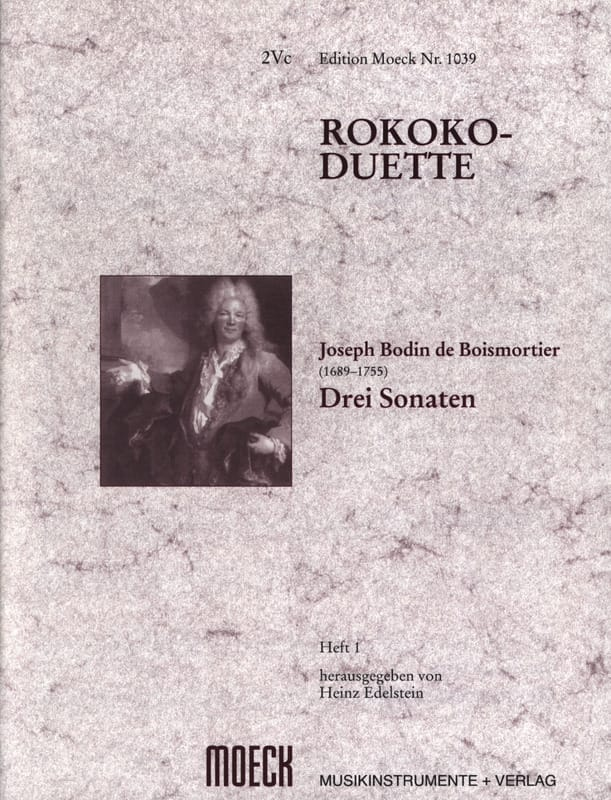 BOISMORTIER - Rokoko-Duette, Heft I: 3 Sonaten - Partition - di-arezzo.com