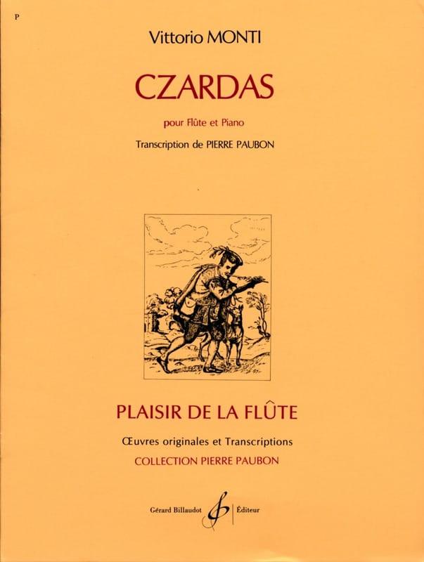 Czardas - Vittorio Monti - Partition - laflutedepan.com