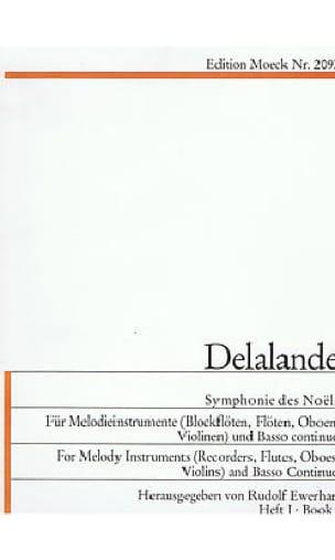 Symphonies des Noels - Volume 1 - DELALANDE - laflutedepan.com
