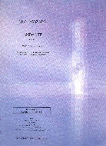 Andante KV 315 - MOZART - Partition - laflutedepan.com