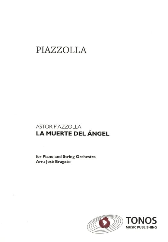 La Muerte del Angel - Partitur - Astor Piazzolla - laflutedepan.com