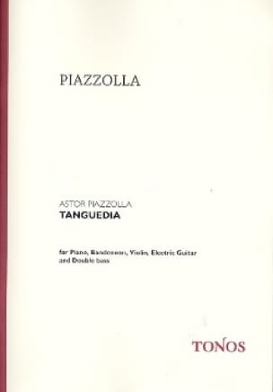 Tanguedia Quintette - Astor Piazzolla - Partition - laflutedepan.com