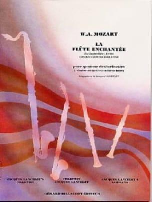 MOZART - The Magic Flute - Clarinet Quartet - Partition - di-arezzo.co.uk