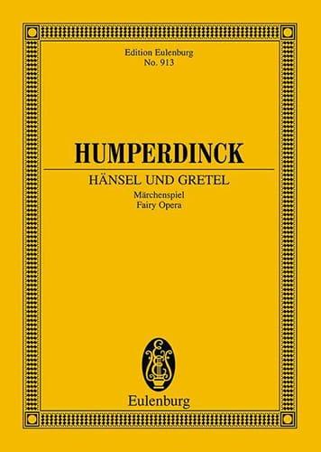 Hänsel Und Gretel - Conducteur - laflutedepan.com
