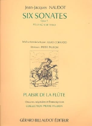 6 Sonates op. 1 - Flûte piano - Jean-Jacques Naudot - laflutedepan.com