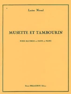 Musette et tambourin - Lucien Niverd - Partition - laflutedepan.com